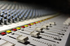 The engineer console Royalty Free Stock Photo