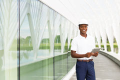 Engineer with Digital Tablet Stock Photography