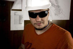 Engineer. S are working on the production Stock Photos