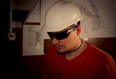 Engineer. S are working on the production Stock Photography