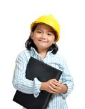 Engineer Girl 01 Stock Photo