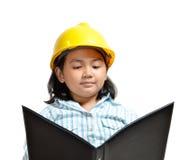 Engineer Girl 02 Stock Photos