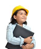 Engineer Girl Royalty Free Stock Images