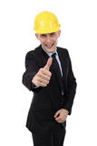 Engineer giving thumbs up Royalty Free Stock Image