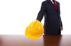Engineer helmet Stock Photography