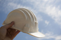 Engineer helmet Royalty Free Stock Photo