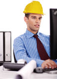 Engineer at his bay Royalty Free Stock Images