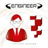 Engineer icon Stock Photo
