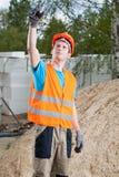 Engineer during job Stock Photography
