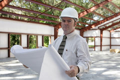 Engineer on Jobsite Royalty Free Stock Photography