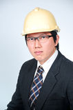 Engineer Manager. With concept working Royalty Free Stock Photos