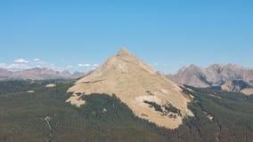 Engineer Mountain in the San Juan Mountains Royalty Free Stock Image