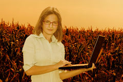 Engineer Of Agriculture Stock Photography
