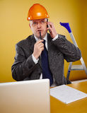 Engineer in office Royalty Free Stock Photography