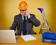 Engineer in office Royalty Free Stock Photo