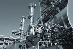 Engineer, oil, fuel and gas Royalty Free Stock Images