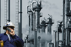 Engineer oil, gas and power Stock Images