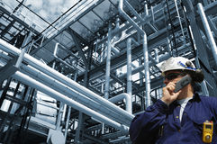 Engineer, oil, gas and power Stock Photos
