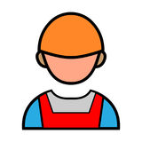 Engineer Persons Handshake Vector Icon Stock Photos