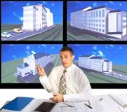 Engineer- planner Royalty Free Stock Photos