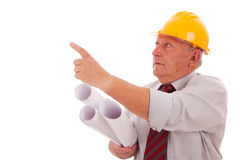 Engineer pointing Stock Photos