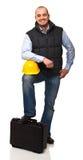 Engineer portrait Stock Images