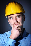 Engineer portrait Stock Photos