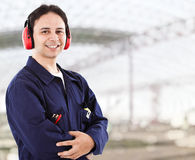 Engineer portrait Royalty Free Stock Photography