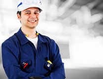 Engineer portrait Royalty Free Stock Photos