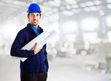 Engineer portrait Royalty Free Stock Photo