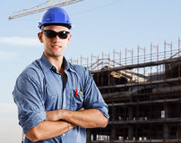 Engineer portrait Royalty Free Stock Images
