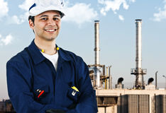 Engineer portrait Stock Images