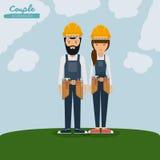 Engineer profession design Stock Photo