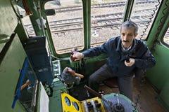 Engineer on radio Royalty Free Stock Image