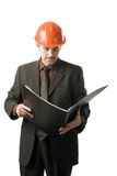 Engineer reading Royalty Free Stock Photos
