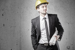 Engineer representative Royalty Free Stock Photo