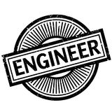 Engineer rubber stamp Stock Image