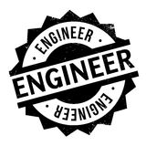 Engineer rubber stamp Stock Photography