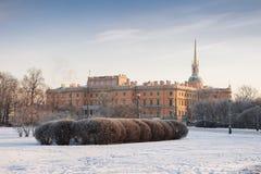 Engineer's Castle (Mikhailovsky Castle) in St. Petersburg Stock Photo