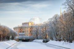 Engineer's (Mikhailovsky) Castle in Saint Petersburg Royalty Free Stock Photography