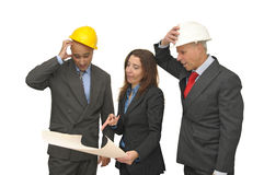Engineer team Royalty Free Stock Photography