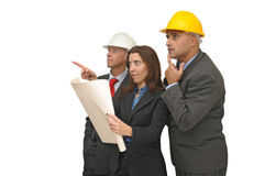 Engineer team Royalty Free Stock Image