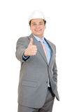 Engineer  thumb up Stock Image