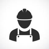 Engineer vector icon. Illustration on white background stock illustration