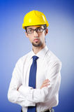Engineer wearing hard hat Royalty Free Stock Photography