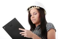 Engineer woman Stock Photos