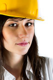 Engineer woman Royalty Free Stock Photos