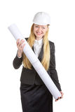 Engineer Woman Stock Image