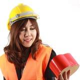 Engineer women Stock Image