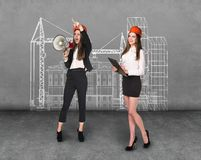 Engineer women Royalty Free Stock Photography